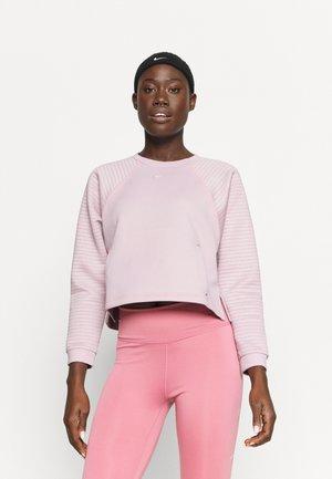 LUX DRY CREW - Sweatshirt - plum chalk/silver