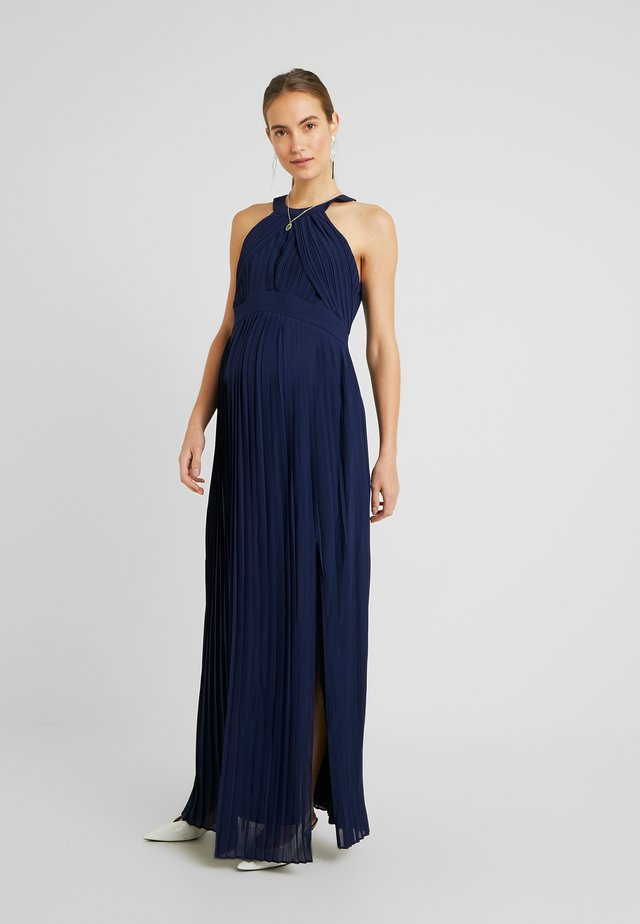 EXCLUSIVE PRAGUE DRESS - Abito da sera - navy