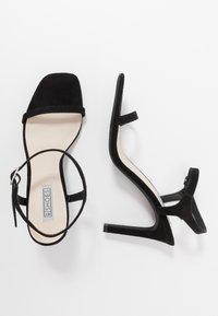 Nly by Nelly - SQUARE  - Sandaler med høye hæler - black - 3