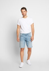 Scotch & Soda - CLASSIC  - T-shirt print - white - 1
