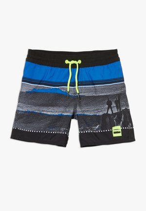 THE POINT - Badeshorts - black/blue