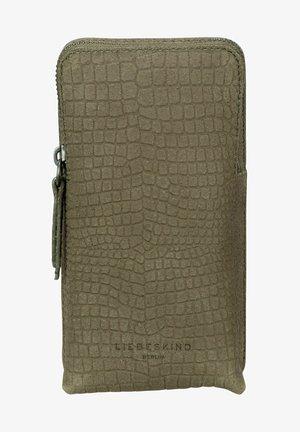 LIZARD - Across body bag - elephant green
