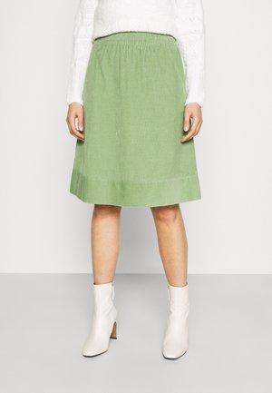 SKIRT - A-line skirt - reed green
