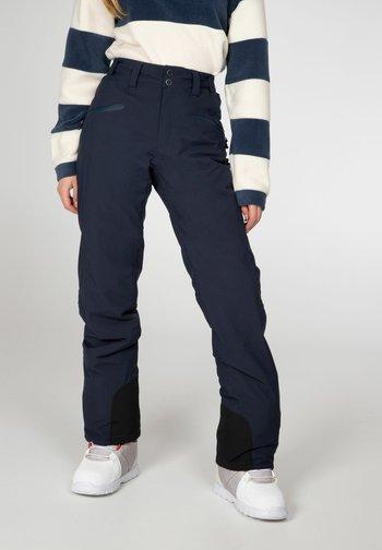 Snow pants - space blue