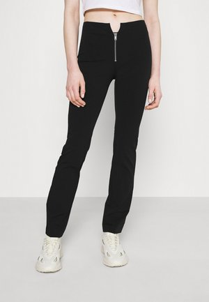 SPRING TIGHT TROUSER - Trousers - black