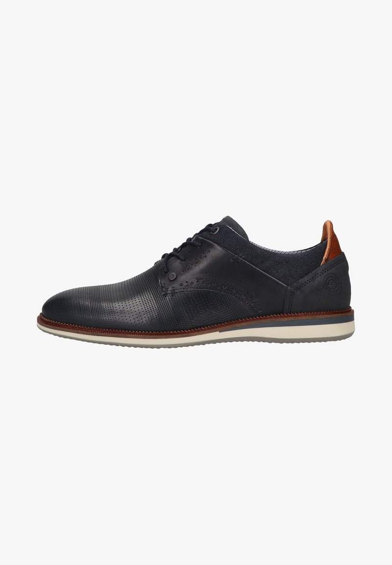 Bullboxer - Smart lace-ups - blue pna