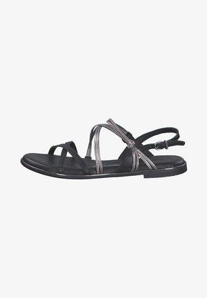 Sandals - black pewter