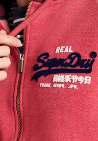 Superdry - Zip-up sweatshirt - red marl - 2