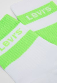 Levi's® - SHORT CUT SPORT LOGO STRIPE 2 PACK - Socken - neon green - 1
