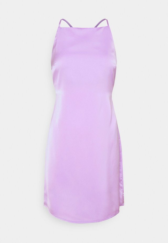 NMRAINY STRAP DRESS  - Vapaa-ajan mekko - purple impression
