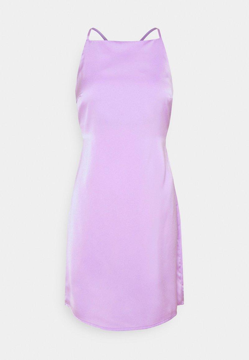Noisy May Petite - NMRAINY STRAP DRESS  - Day dress - purple impression