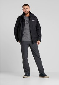 The North Face - M S/S EASY TEE - EU - Triko s potiskem - grey heather - 1