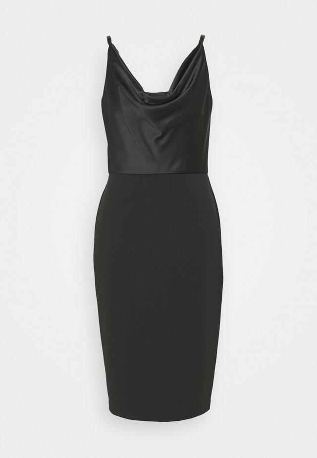 ARANDA SLEEVELESS COCKTAIL DRESS - Cocktailkleid/festliches Kleid - black