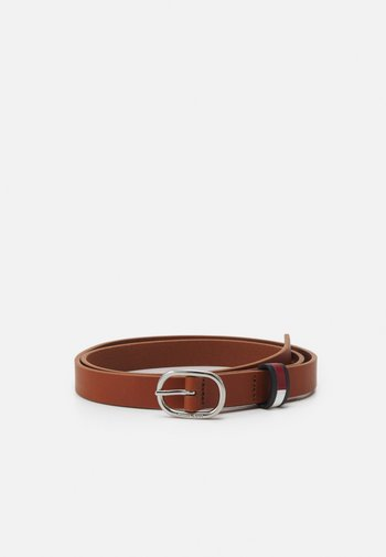 CASUAL OVAL BELT - Belt - brown