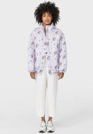 MIT BLUMENPRINT - Winter jacket - mauve
