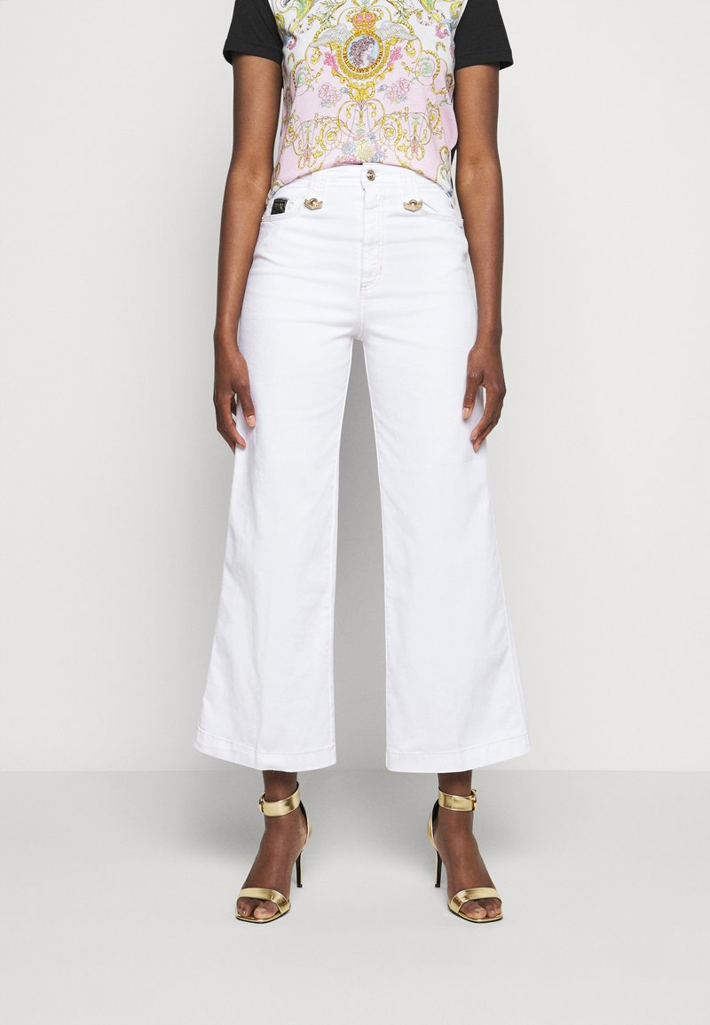 Versace Jeans Couture - Flared Jeans - optical white