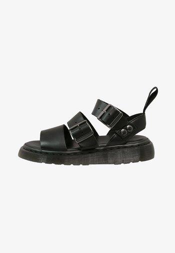 GRYPHON - Sandals - black