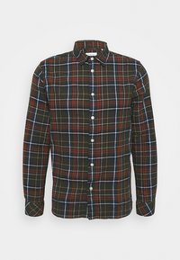 LARCH REGULAR FIT SMALL CHECKED SHIRT - Shirt - forrest night