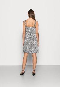Calvin Klein Jeans - WIDE STRAPS DRESS - Cocktail dress / Party dress - beige - 2