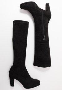 TOM TAILOR - Høje støvler/ Støvler - black - 3