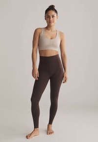 OYSHO - Leggings - brown - 1