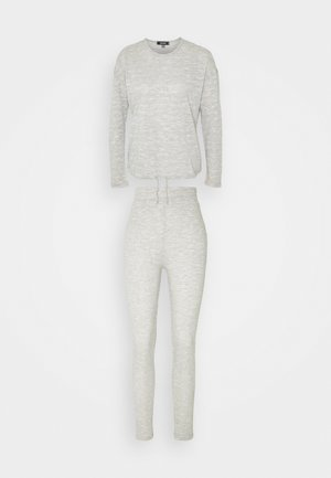 SNIT LONG SLEEVE DRAWSTRING LOUNGE - Pyjama - grey