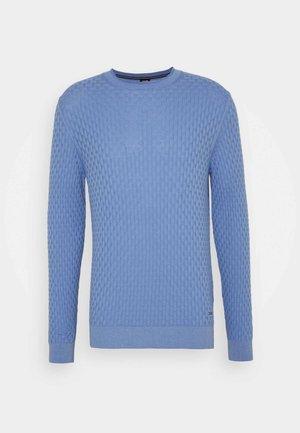 MADS - Strikkegenser - pastel blue