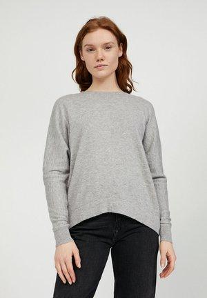 SUYANAA - Jumper - silver grey melange