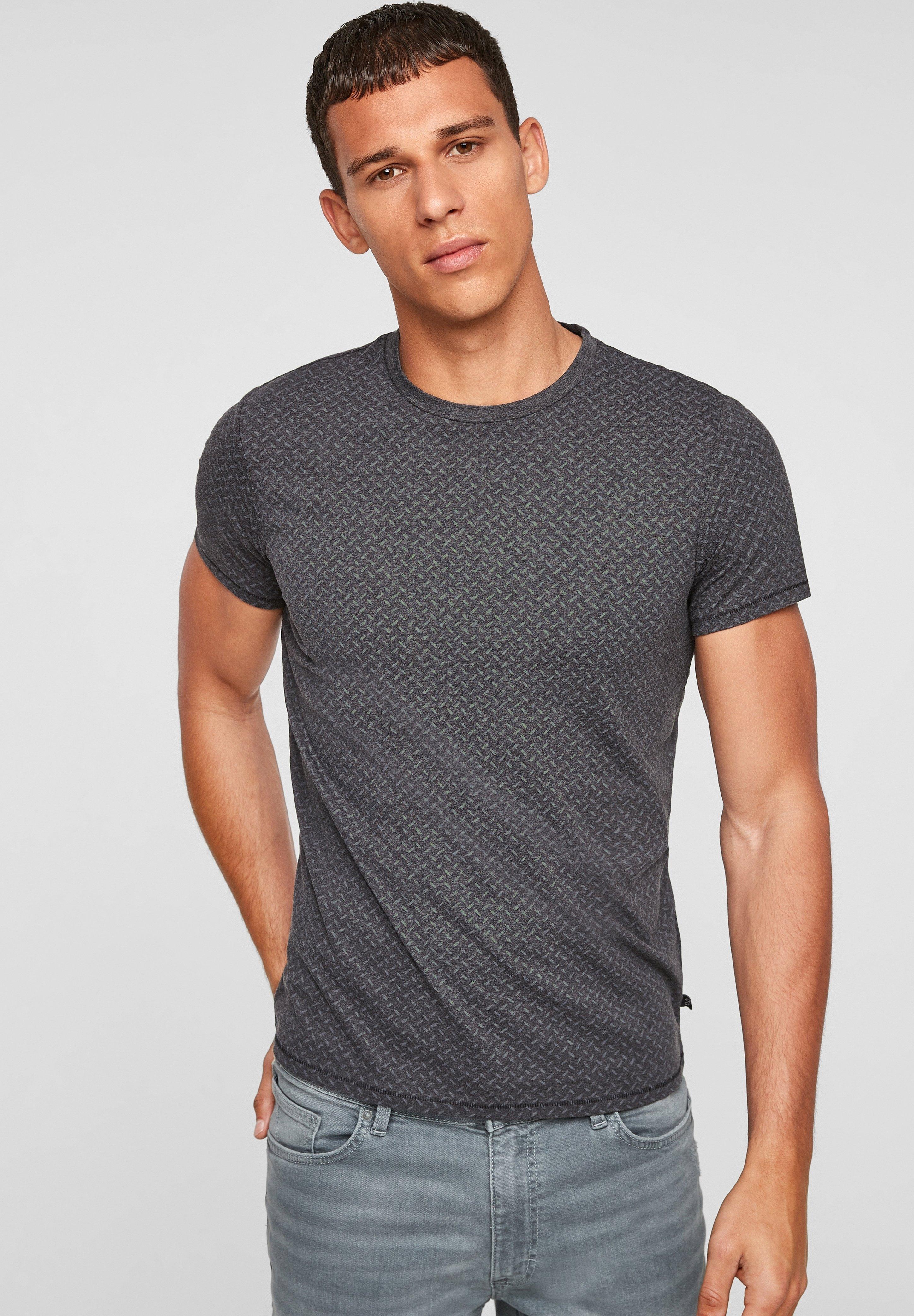 Herren MIT ALLOVERMUSTER - T-Shirt basic