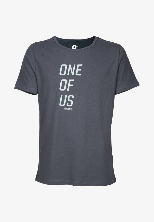 T-SHIRT ONE OF US - Print T-shirt - grey