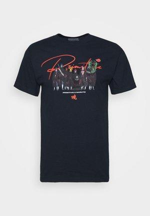 AKATSUKI CLAN TEE - Print T-shirt - navy