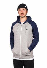 Quiksilver - Zip-up hoodie - light grey heather - 0