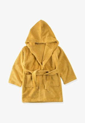 Dressing gown - mustard yellow