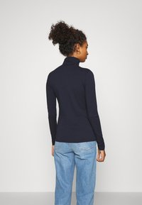 Weekday - CHIE TURTLENECK - T-shirt à manches longues - navy - 2