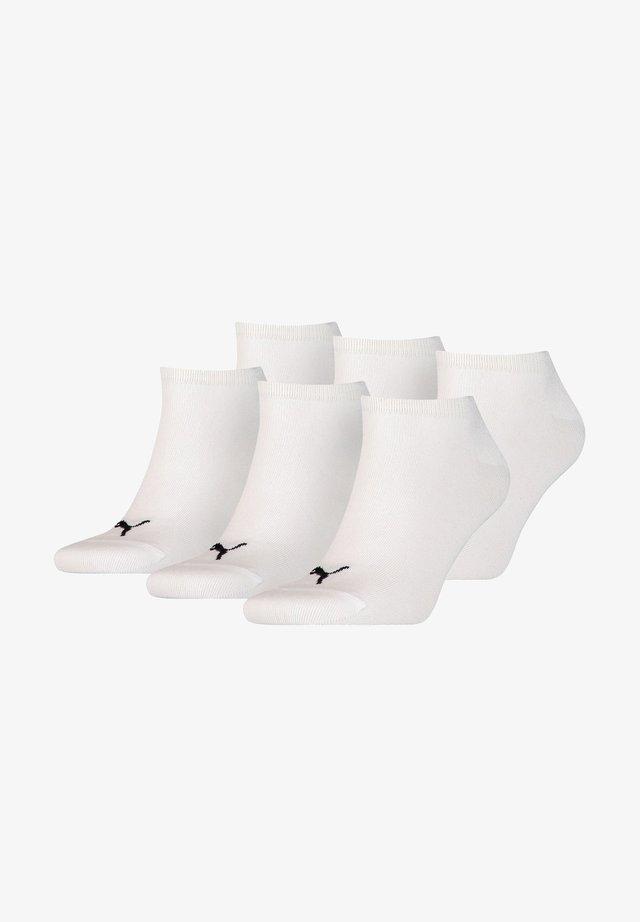 6 PACK - Trainer socks - white