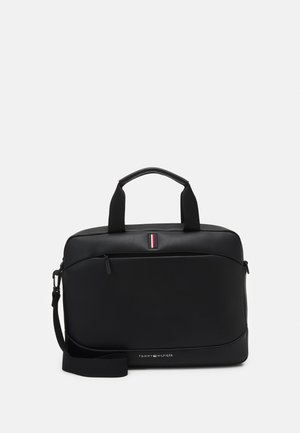 SLIM COMPUTER BAG UNISEX - Aktovka - black