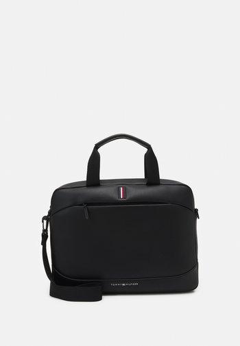 SLIM COMPUTER BAG UNISEX - Briefcase - black