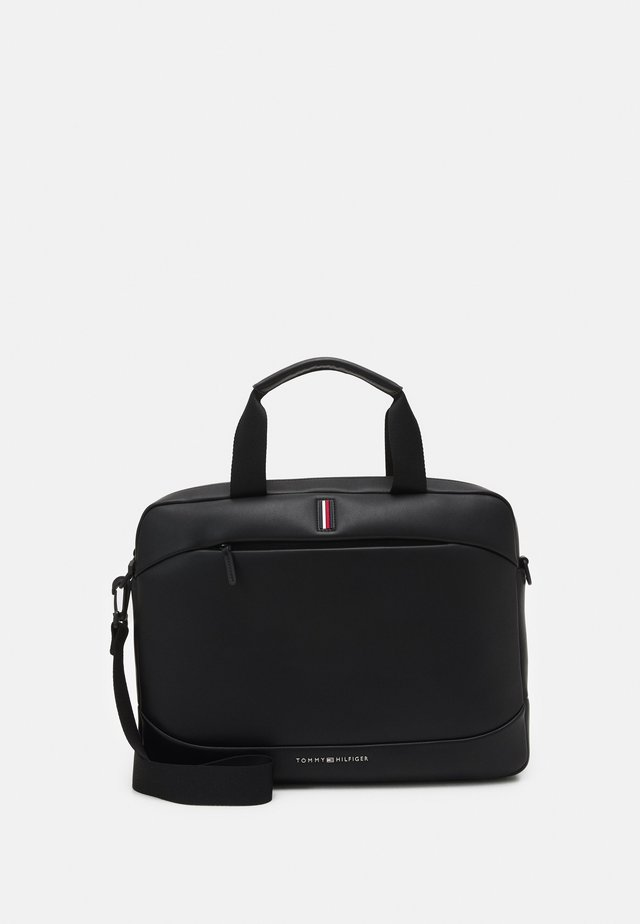 SLIM COMPUTER BAG UNISEX - Briefcase - black