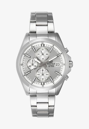Chronograph watch - silver-coloured/white