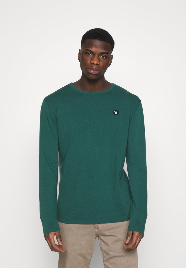 MEL LONG SLEEVE - Langærmede T-shirts - faded green