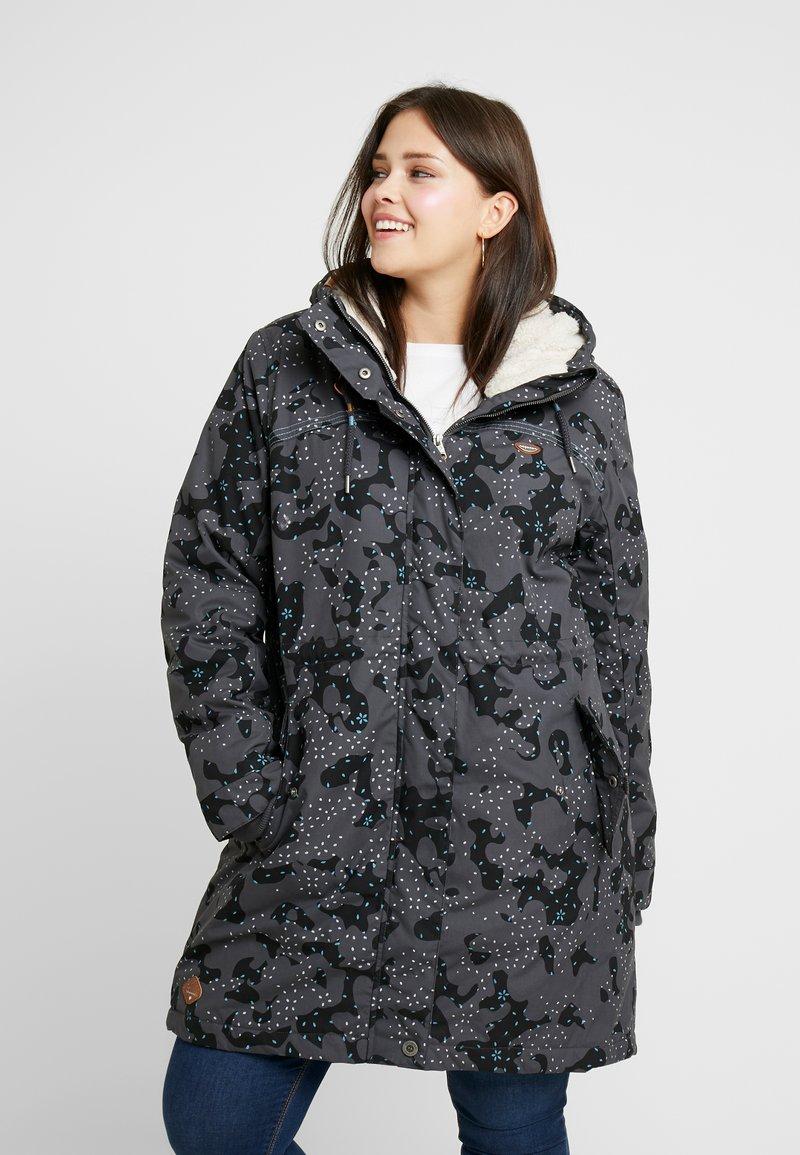 Ragwear Plus - TAWNY CAMO COAT - Parkatakki - dark grey