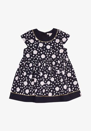 MIT BLUMEN-PRINT - Day dress - midnight blue