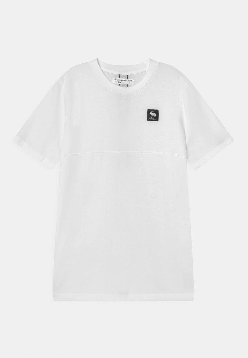 Abercrombie & Fitch - LOGOTAPE - T-shirt print - white
