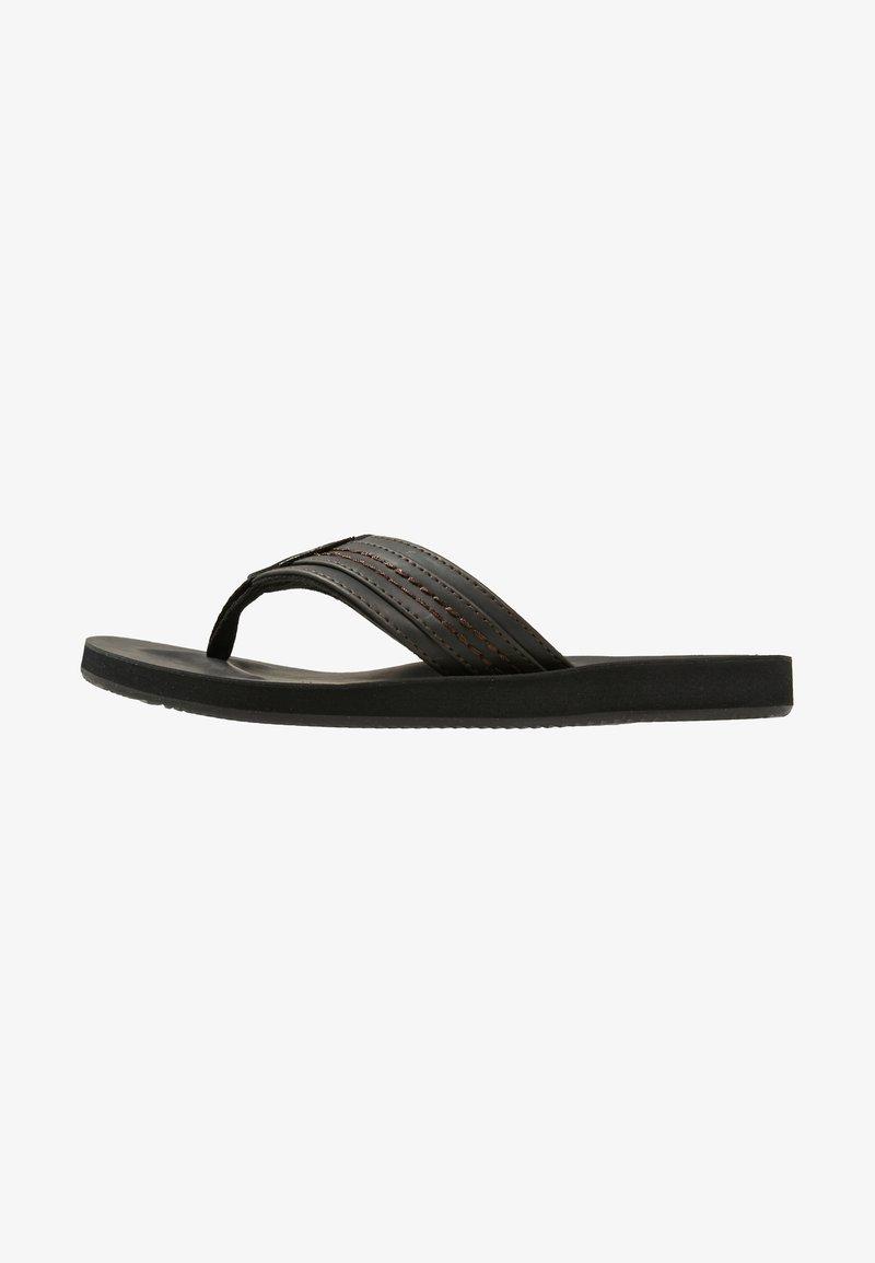 Jack & Jones - JFWBOB - T-bar sandals - black