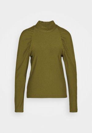 RIFA TURTLENECK - Sweatshirt - dark olive