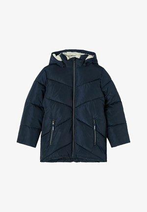 NKFMAKE CAMPA - Winter jacket - dark sapphire