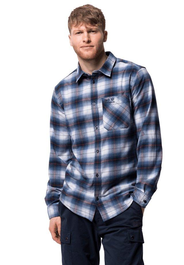LIGHT VALLEY - Shirt - night blue checks