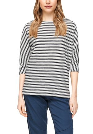 T-shirt à manches longues - blue stripes