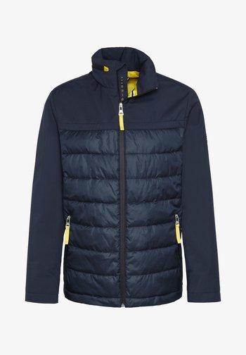 MIT STEHKRAGEN - Light jacket - marine
