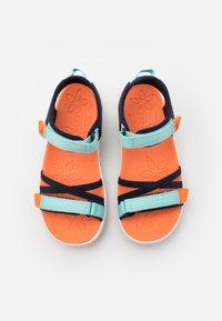 Keen - VERANO UNISEX - Walking sandals - black iris/blue tint - 3